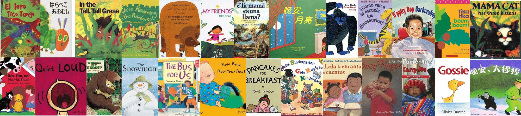 Multi-lingual Story Guide Book Covers